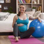 Gimnasia para embarazadas en casa